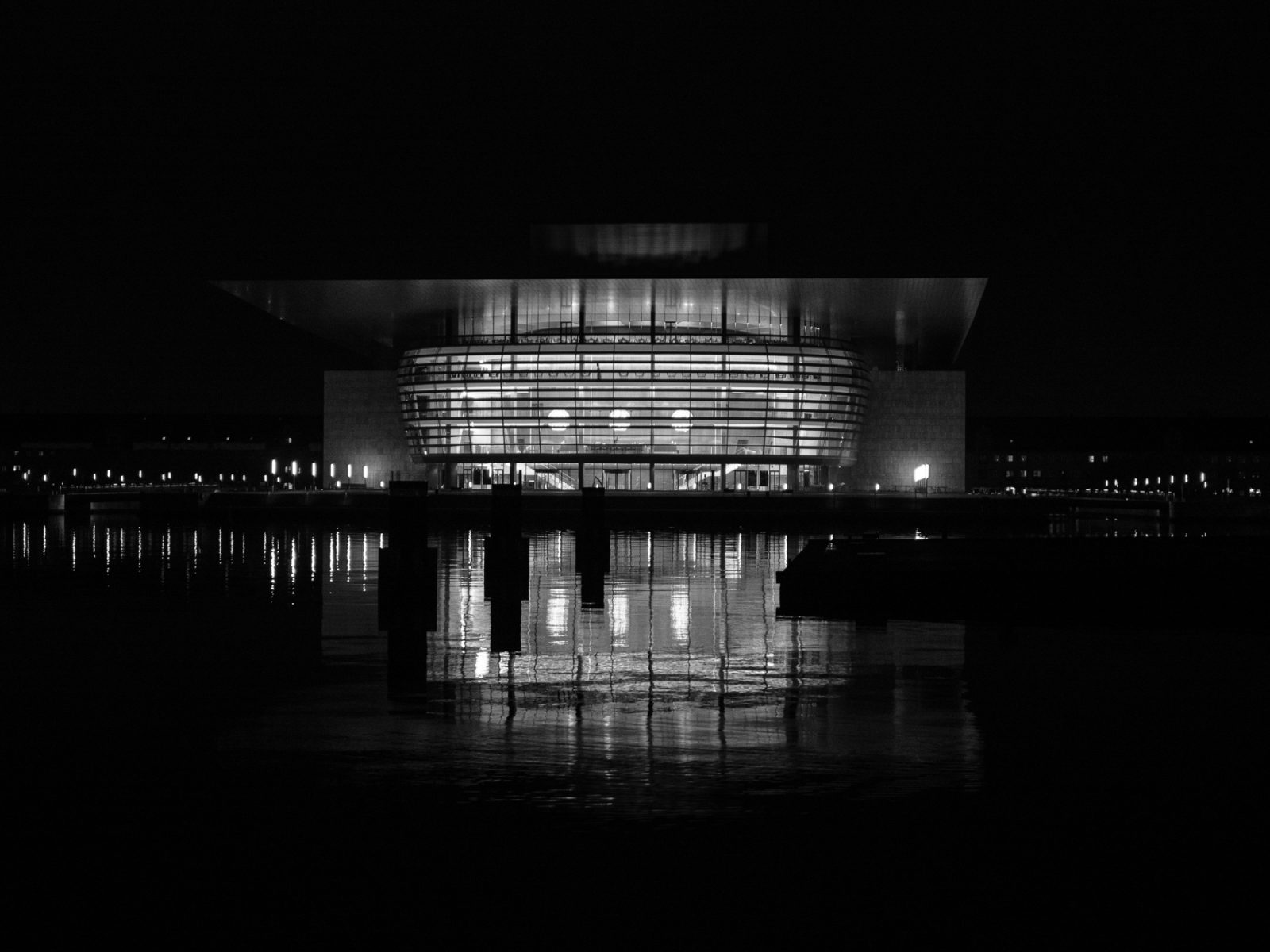 The harbour front - The Opera