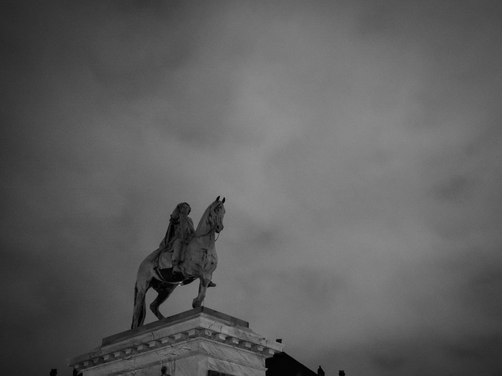 Statue of Frederik the 5th at Amalienborg