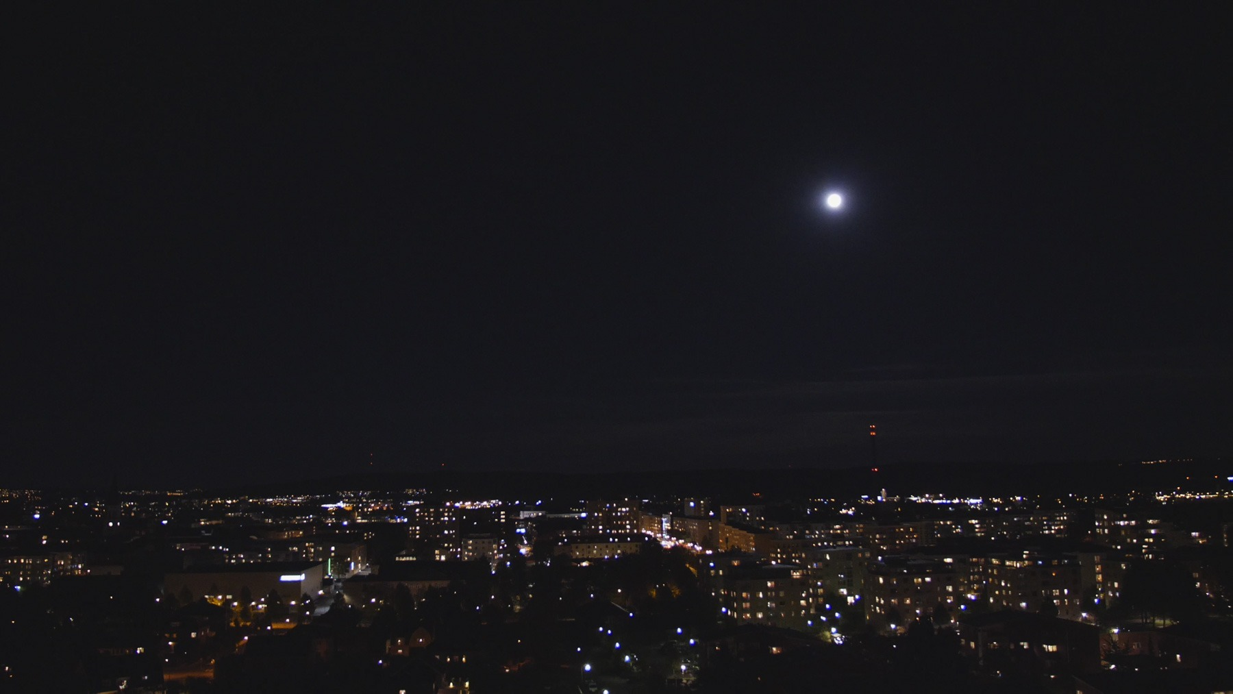 Still frame from Jönköping at Night video