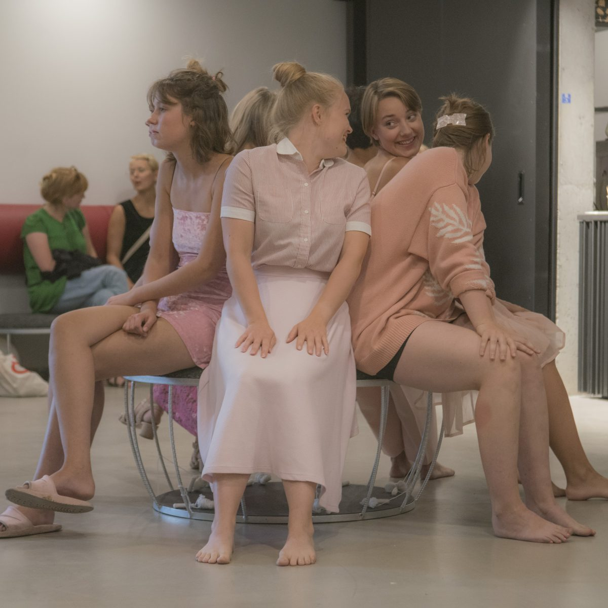 Theater photography: Mig og min menstruationskop (Me and my menstrual cup)