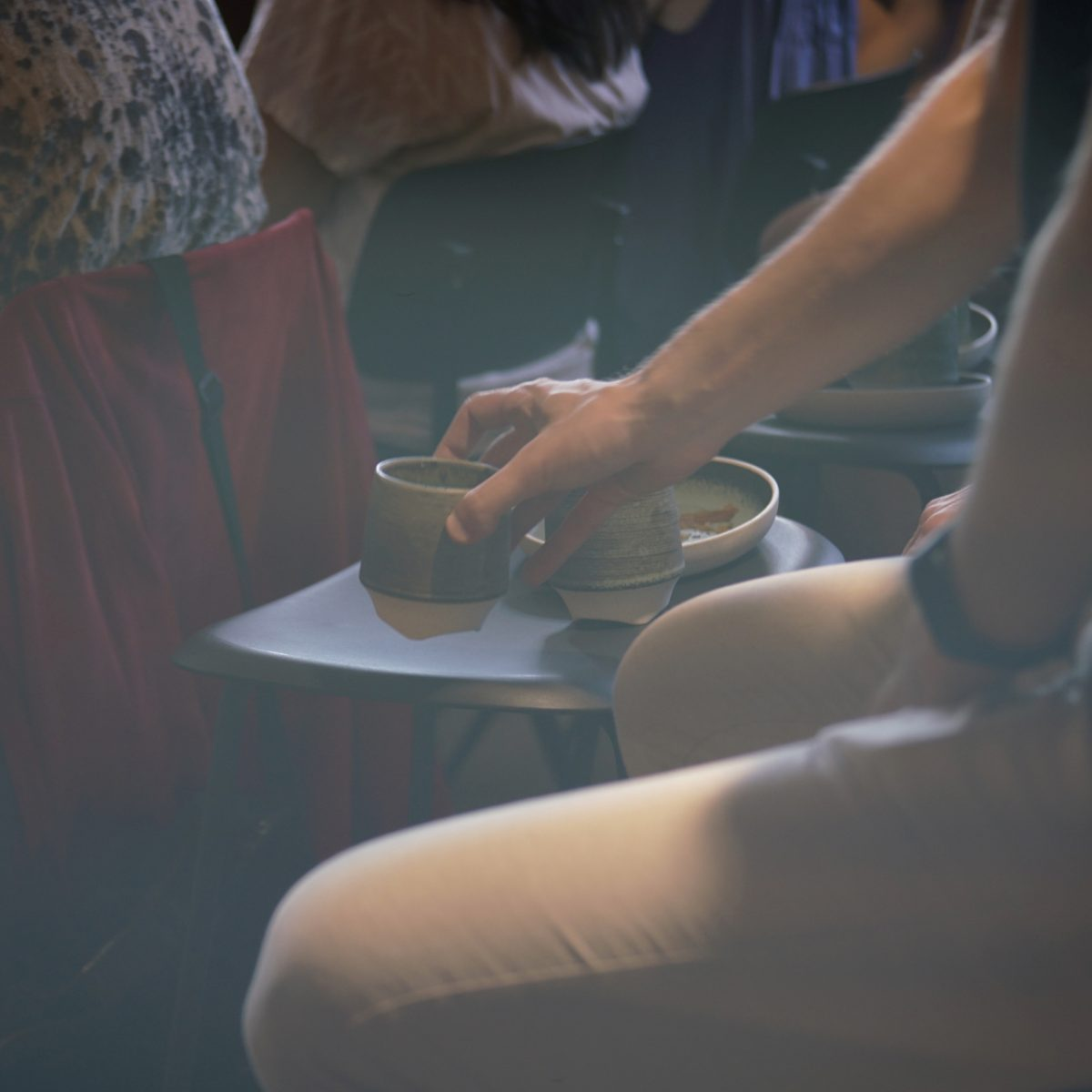 Event photography for Instagram: Coffee - an important part of a Creative Morning - shot with Lomography Neptune