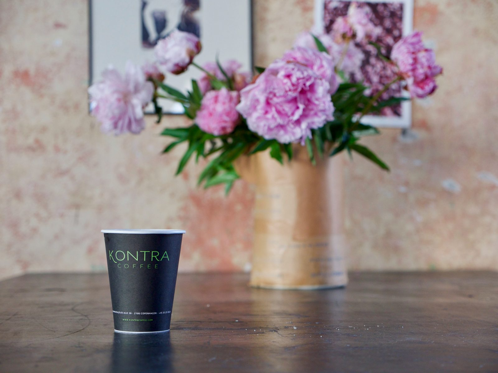 Kontra Coffee - an important part of a Creative Morning in Copenhagen - event photography