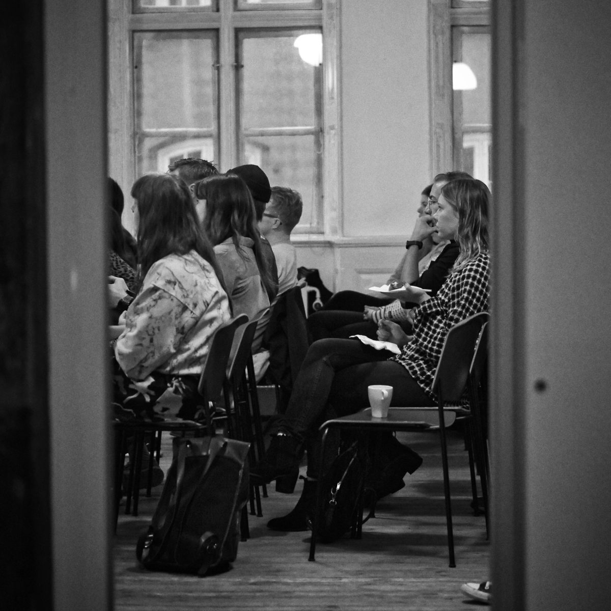 Event photography: Creative Mornings Sep 19 - nice audience