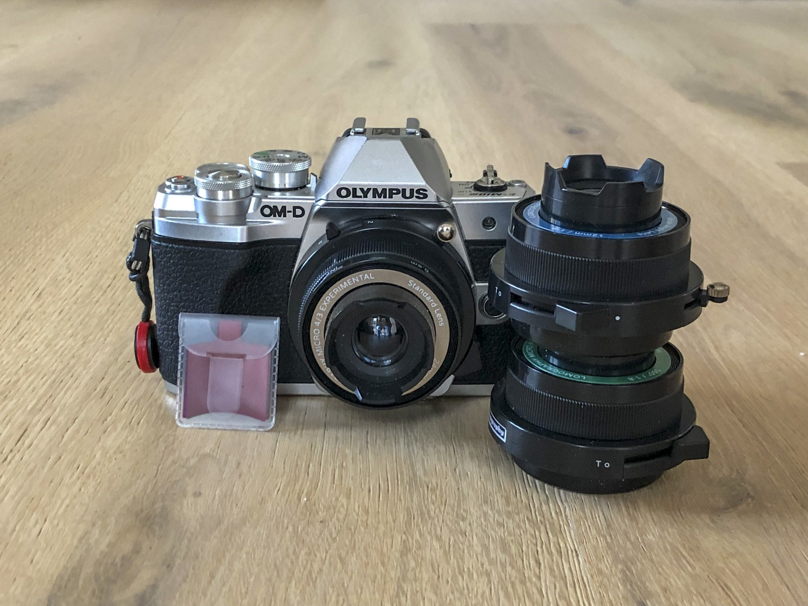 Lomography experimental kit for Micro Four Thirds on Olympus OM-D EM-10 Mark iii