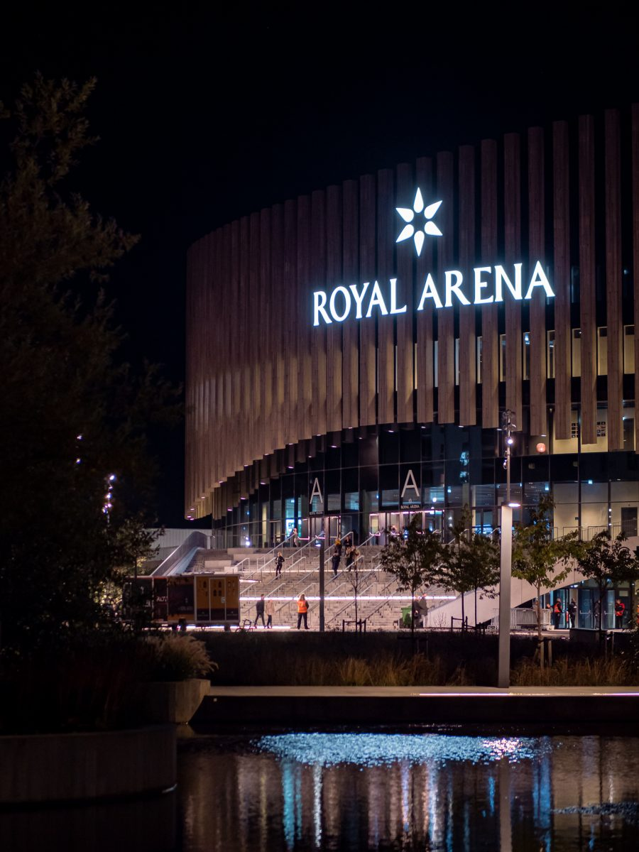 Royal Arena in Ørestad, fall 2019, by Ørestad based photographer Stefan Grage