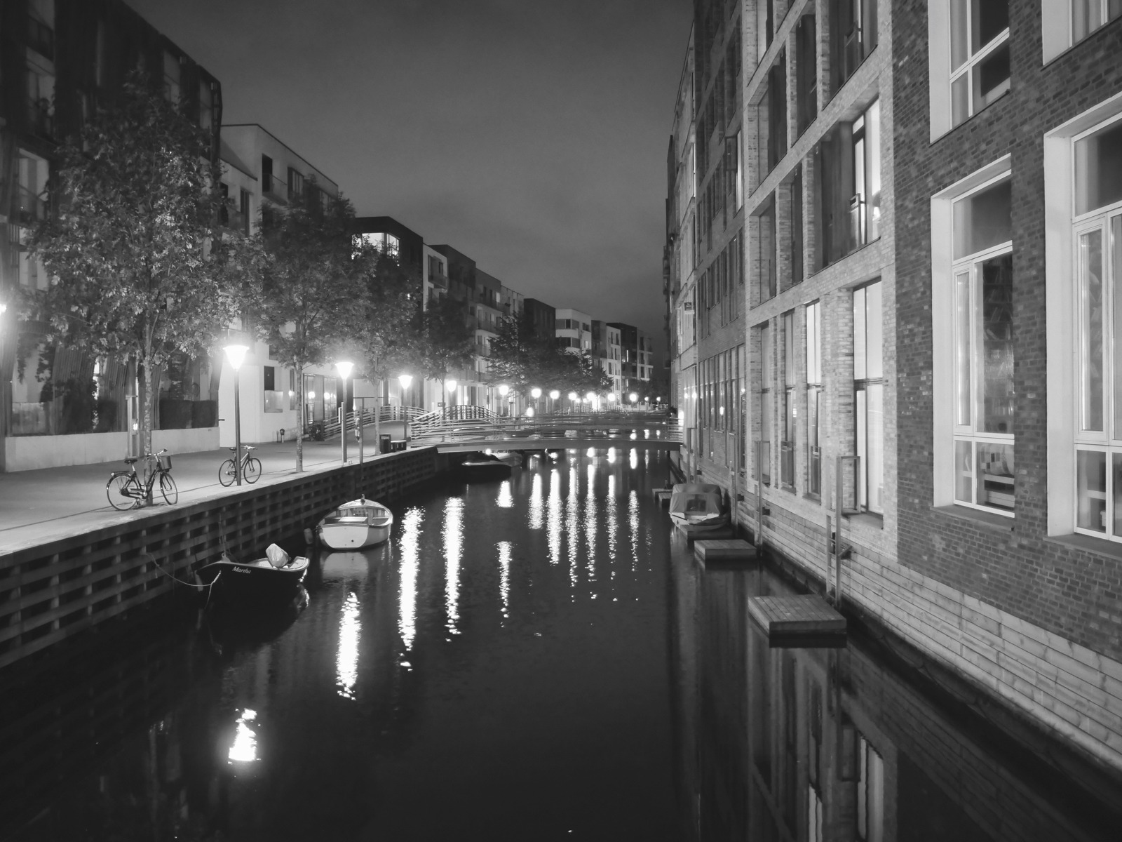 The canals in the South Harbour - Voigtländer 17.5mm for Micro Four Thirds