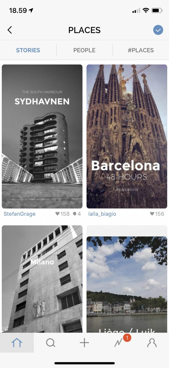 """Sydhavnen was the most popular story in the """"places"""" category for a while"""