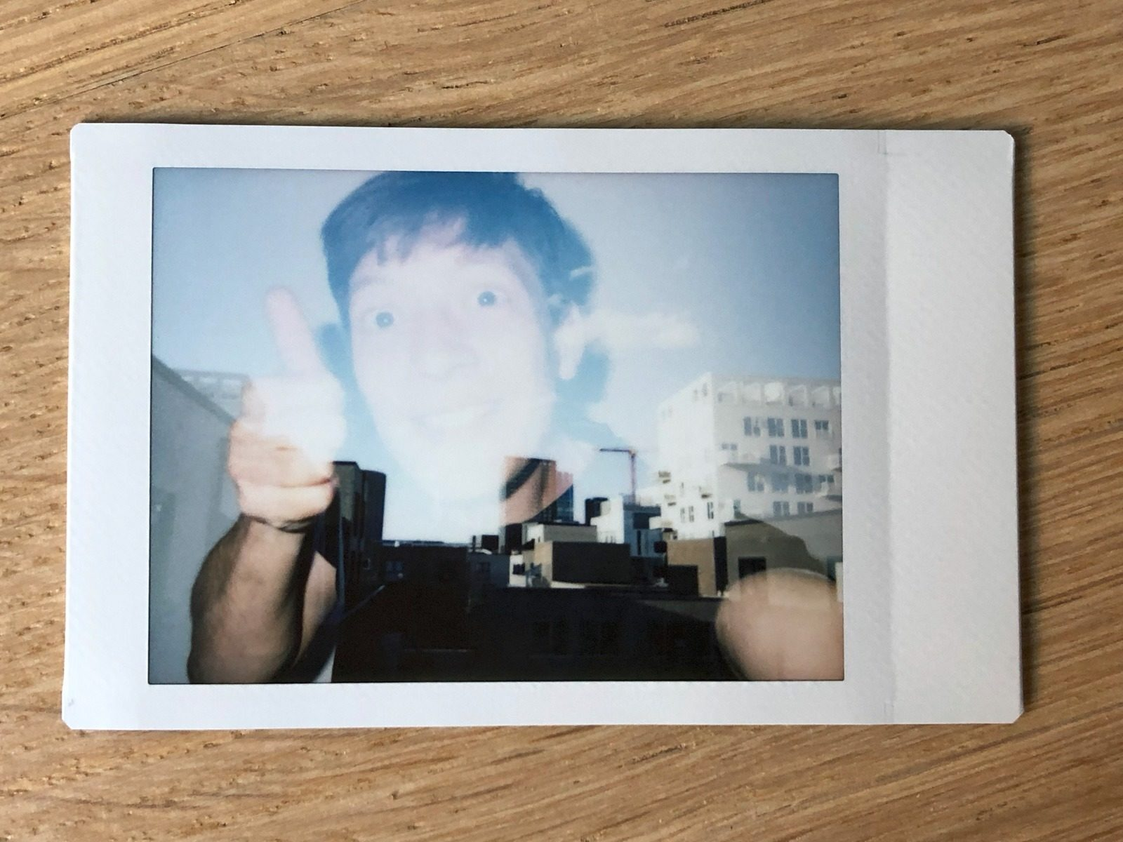 Double exposure with the Fujifilm Instax Neo Classic Mini 90