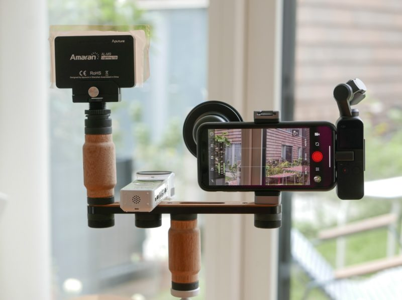 iPhone photography- and videography rig